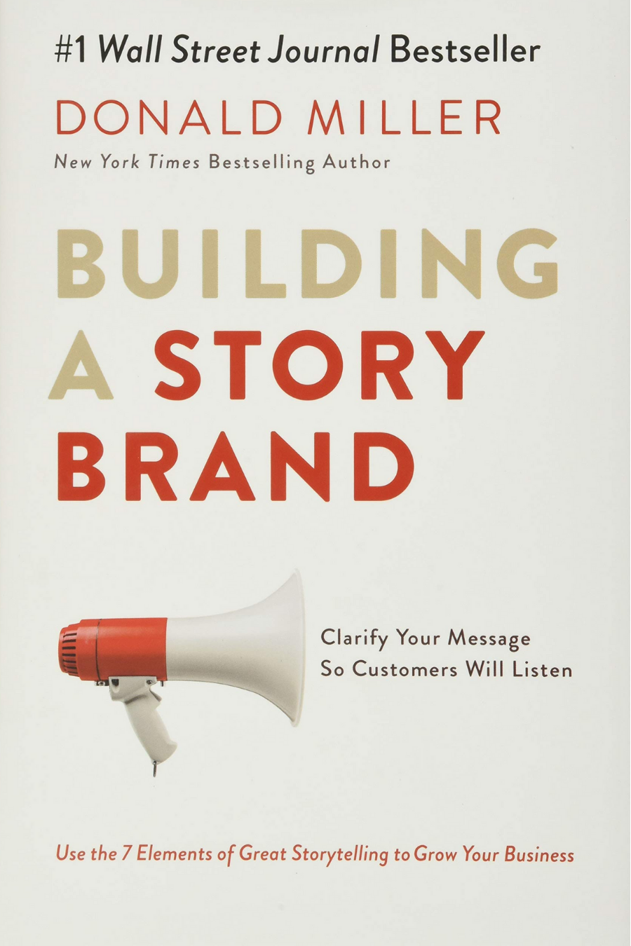 Book cover for Building a Story Brand