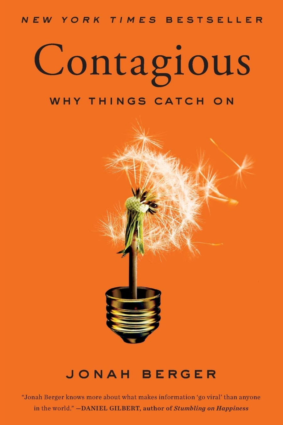 Book cover for Contagious: Why Things Catch On