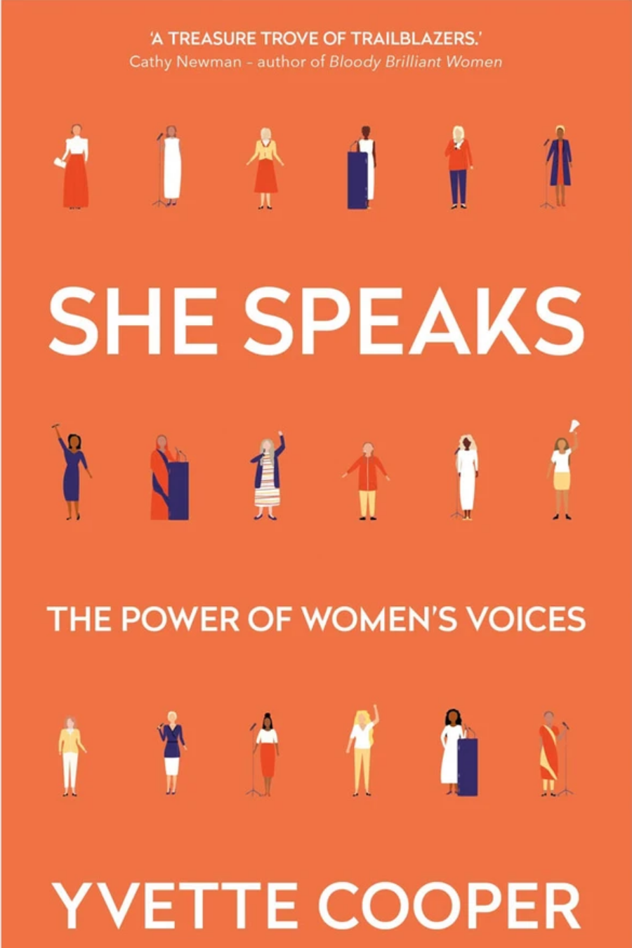 Book cover of She Speaks: The Power of Women's Voices